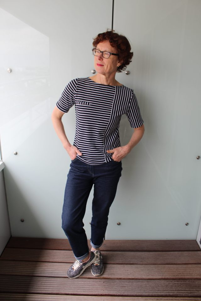 JLH Gable Top becomes Breton Style Top