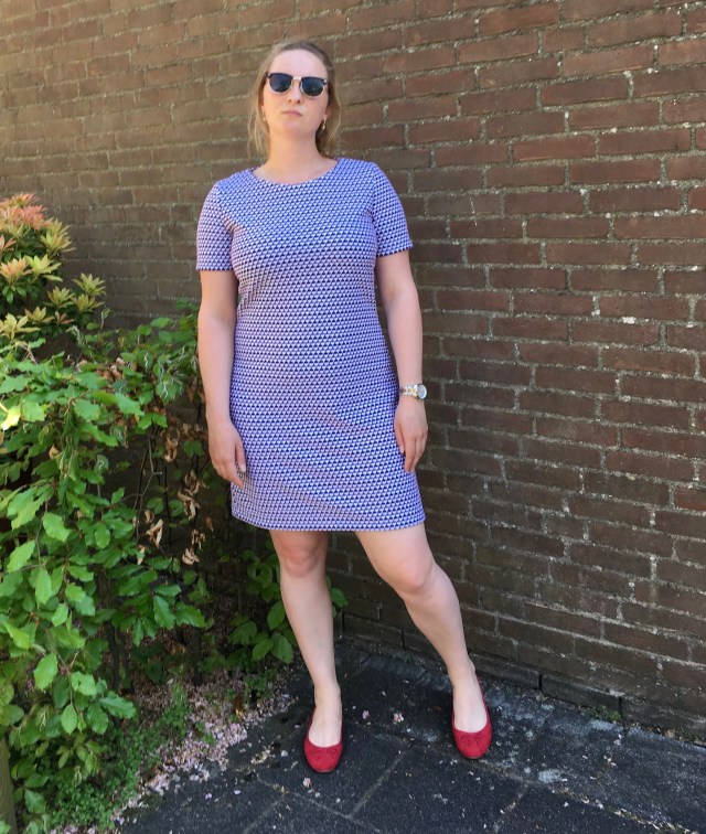 Easy Sewing Homemade Basic T-shirt dress