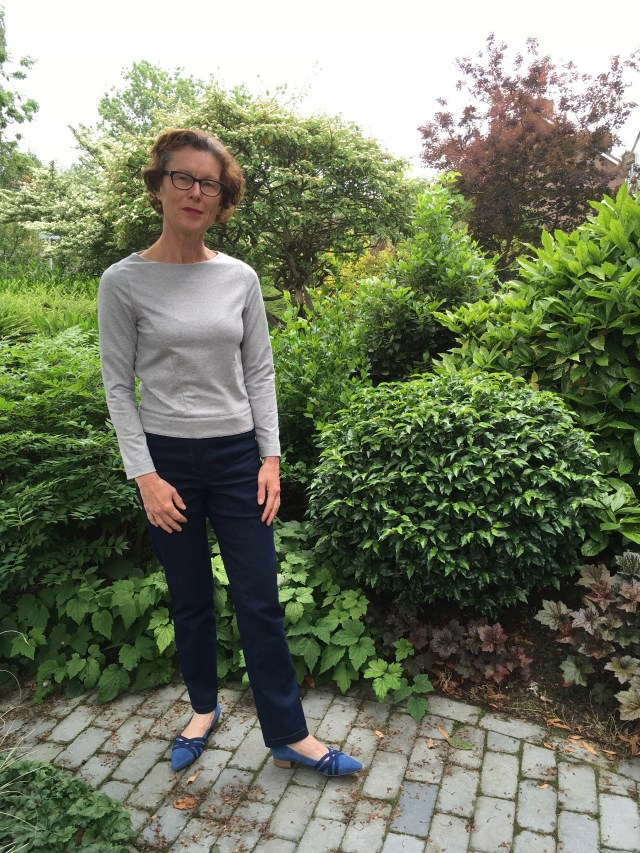 LMV Oslo Blouse French Terry version