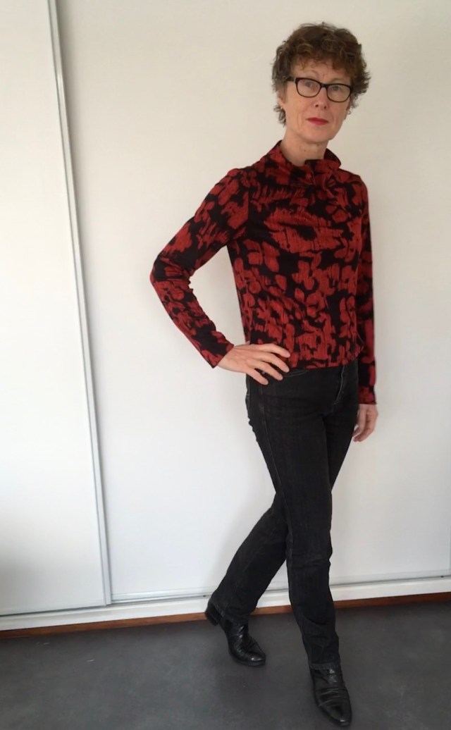 Elastic Tie Sweater from Assembly Line