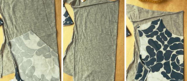belegdelen Marimekko design fabric Tee