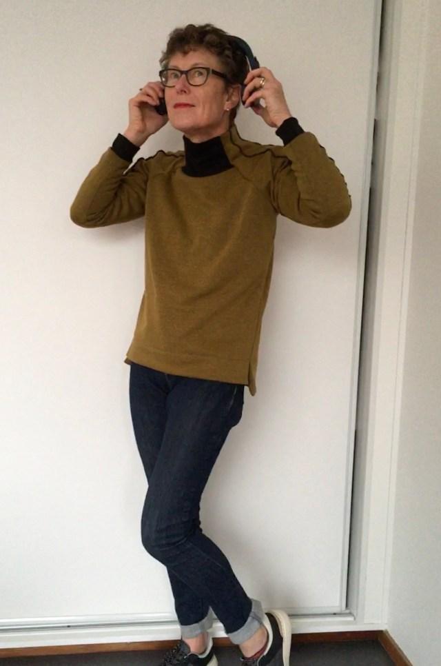 Misusu patterns Stereo Sweater