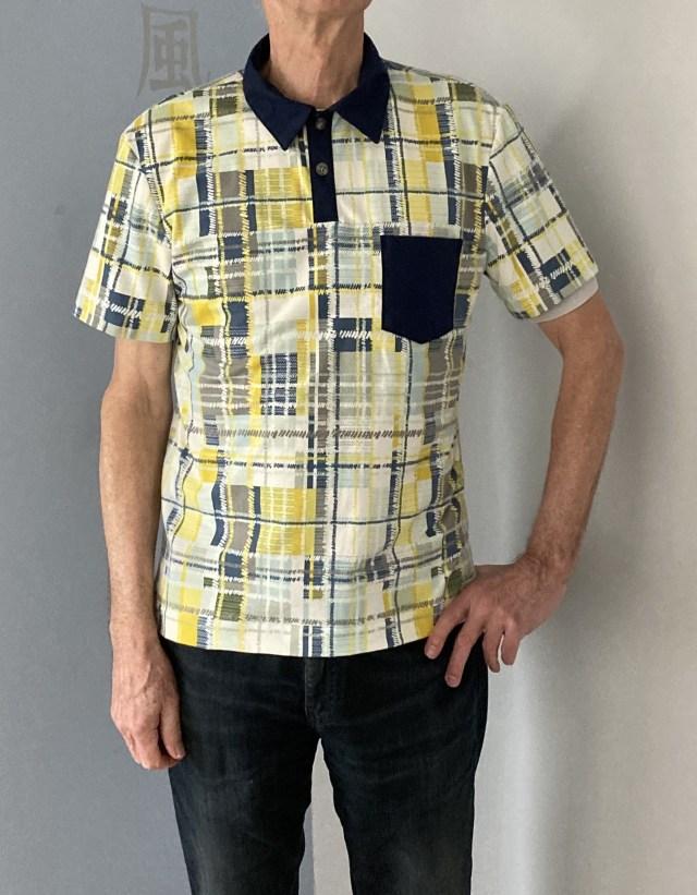 Men's Draper Polo T-Shirt WBM patterns