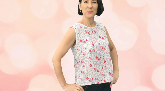 Camellia Top PDF Pattern Now Free in all sizes