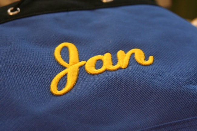 How to create Monograms with Regular Sewing Machine