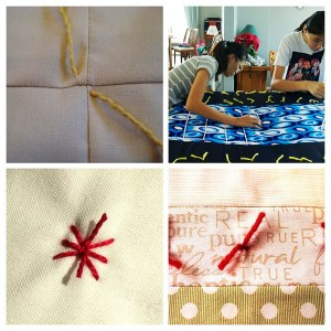 Images via Quilting in the Rain, WikiHow, Selvage Blog, Craftsy.