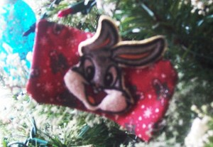 Bugs Bunny ornament.
