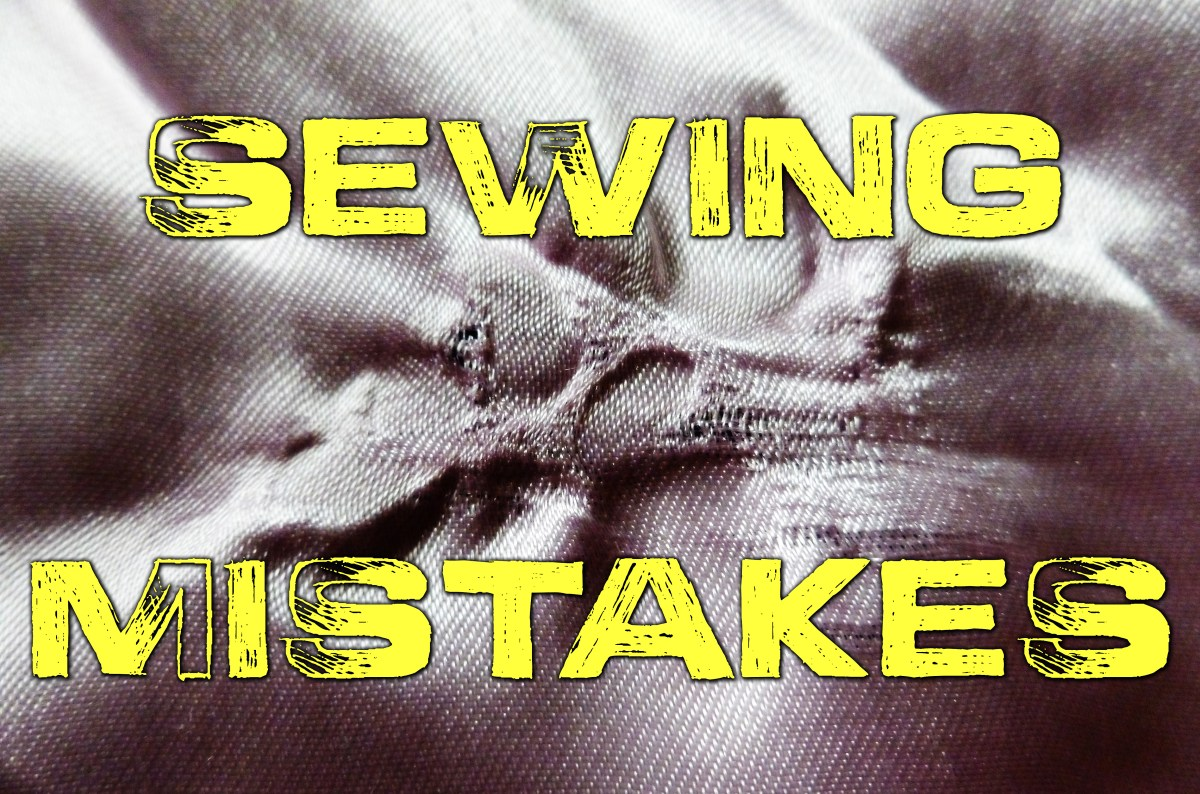 Five Easy-to-Do Mistakes While Sewing