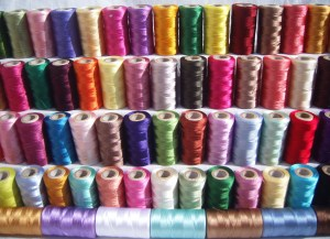 "Thin but strong & flexible with a lot of ""give,"" silk thread is also ideal for basting stitches and tailoring curved areas."