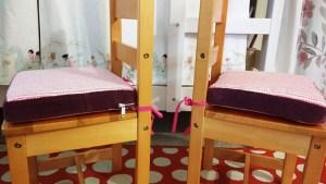 DIY Chair Cushions for Kids
