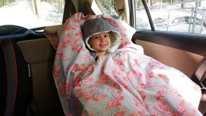 My 4 year old absolutely loves what she calls her 'car blanket.'