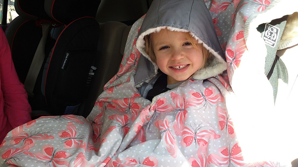 Diy Car Seat Poncho Blog