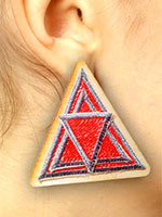 Anthony Auld's free Embroidered Earrings pattern.