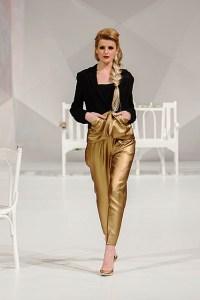 Gold lamé? More like gold fabulous!