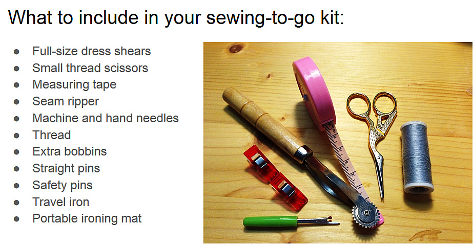 Sewing On The Go What And How To Pack For Class Or Traveling | SewingMachinesPlus.com Blog