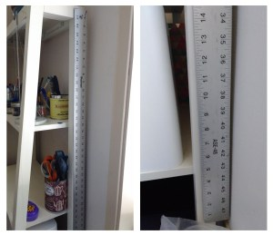 "I also have this heavy, metal, 48"" ruler."