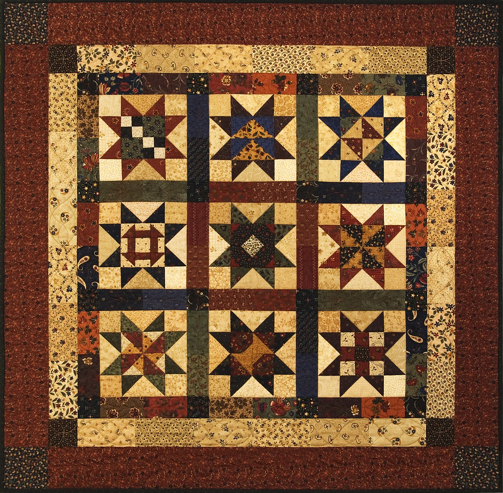 Tell-Tale Traits of a Primitive Quilt | SewingMachinesPlus.com Blog : primitive quilting - Adamdwight.com