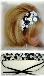 Since headbands are small projects, making one for the sake of a button endeavor might not be too hectic of an idea!