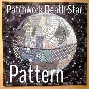 There are a number of options for this kind of product, but one that really stuck out to me was this Death Star quilt.