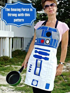 For a person — like me — who adores baking, making a character-inspired apron like this one feels like a wonderful option!