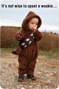 Oh, & remember how I said I loved Chewbacca? Imagine your little one decked out in this Chewbacca costume!
