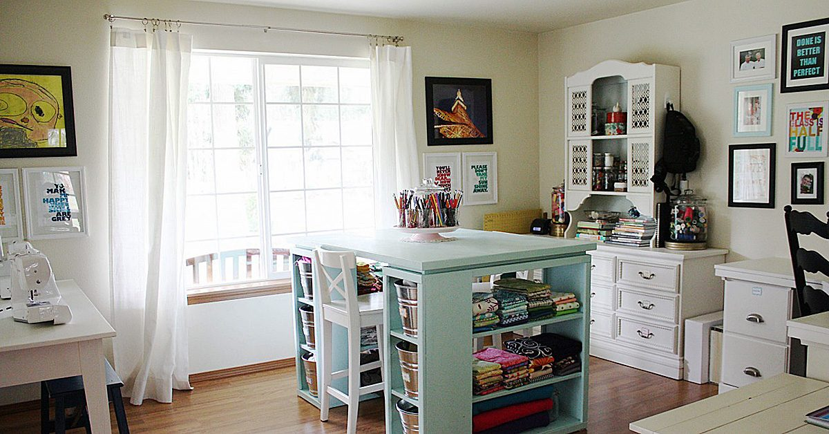 optimal lighting in your sewing room