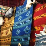 Other items on display were rugs, pillowcases, bedding sets, purses, bags, belts, guayaberas, and embroidered and woven fabrics.