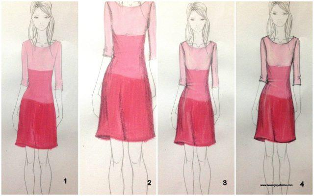 How to color fashion design sketches  quick and easy tutorial P s  If you want to learn complete fashion sketching  then join my 30 days  free fashion sketching course