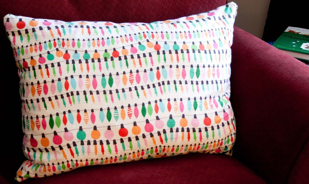 how to sew a zippered pillowcase