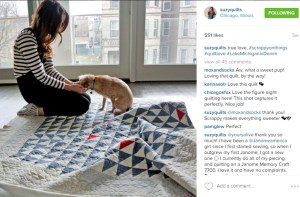 Suzy Williams Scrappy Quilts Instagram