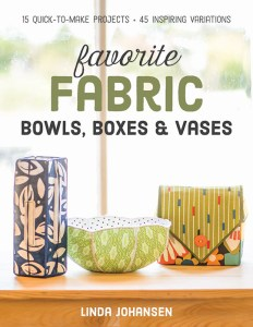 C&T Publishing book favorite fabric bowls boxes and vases cover