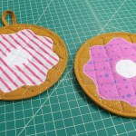 SEW WITH ME: Donut Potholders (Free Pattern)