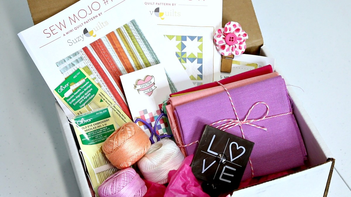 Sweet Subscription Box! Quilters Candy Box [Unboxing & Review]