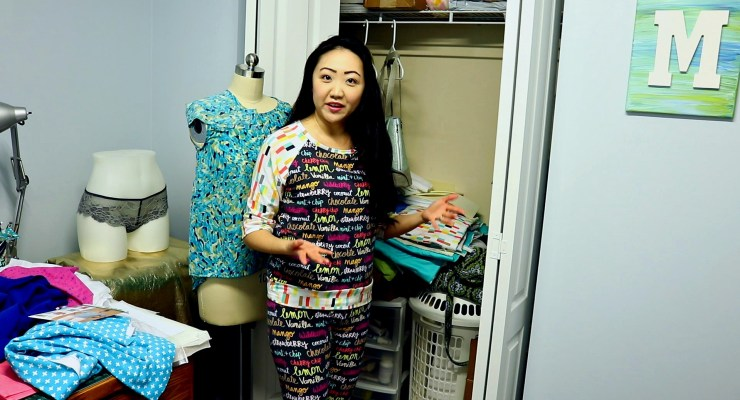 Honest Craft Room Sewing Space Tour May 2017 EDITED