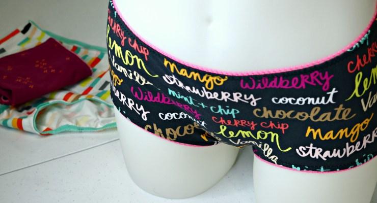Making Underwear from a FREE PATTERN | DIY FASHION