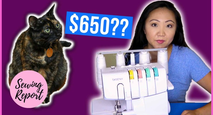 PSA: Keep Your Cat Away From Sewing Machines 🐈 Save $650 in Vet Bills!