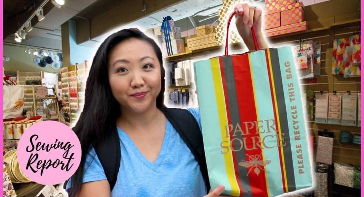 Paper Source Vlog | Shopping at Tampa's Hyde Park Village