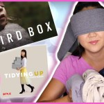 Bird Box Challenge Meets Tidying Up Marie Kondo Style
