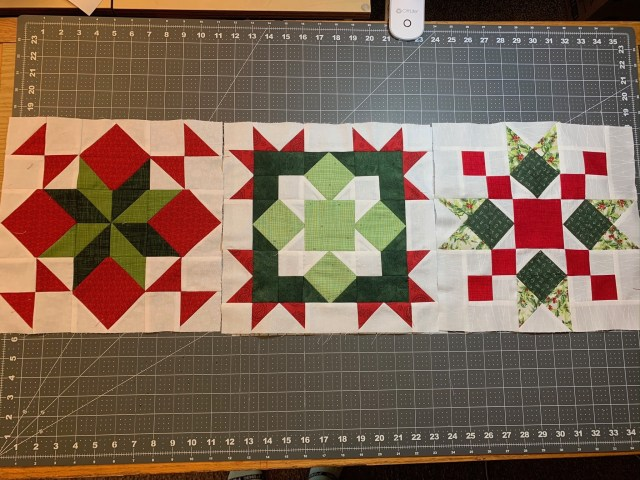 Holiday Wishes Midnight Clear Pattern