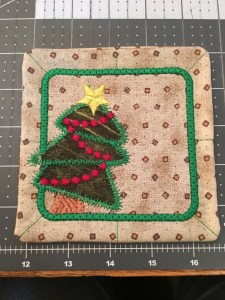 ITH Christmas Tree Coaster