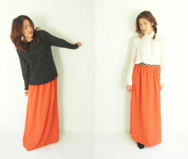 Long Maxi Chiffon Skirt Pattern Free