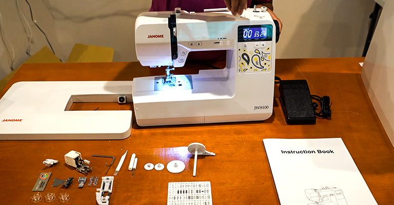 Janome JW8100 Review