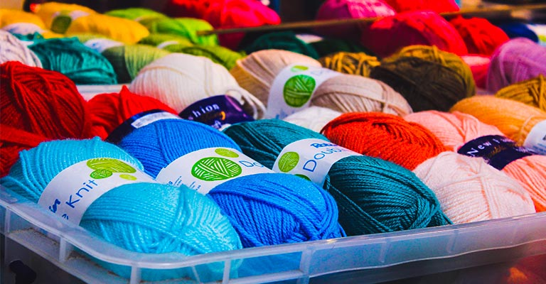 How to Store Yarn