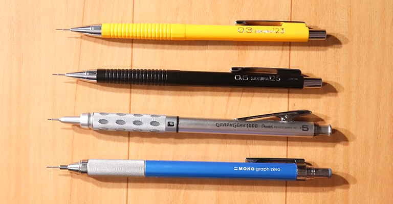 Best Mechanical Pencil for Drawing