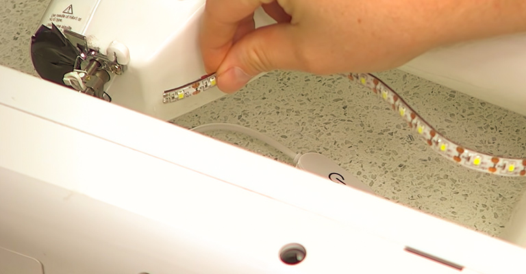 How to Install LED Lights Sewing Machine