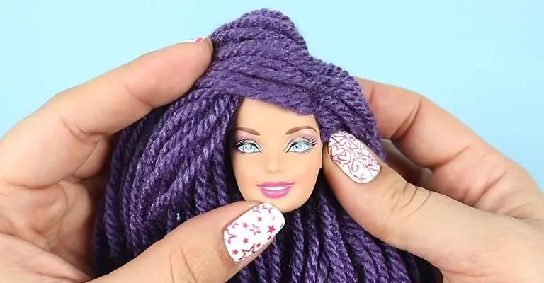 How to Make Yarn Hair