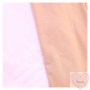 Swim Lining - Nude & White