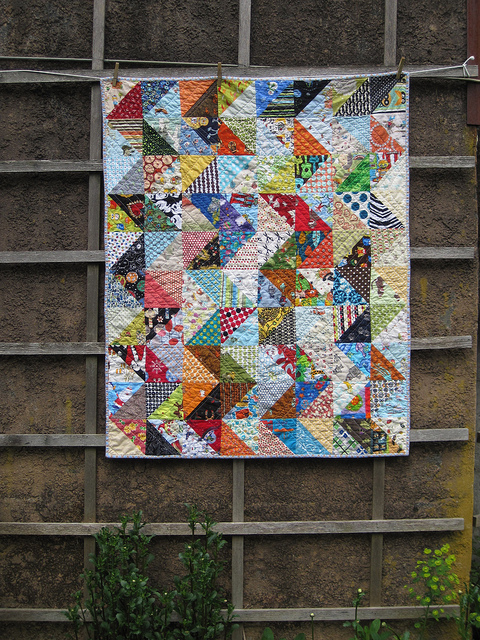 sewkatiedid/zig zag value quilt