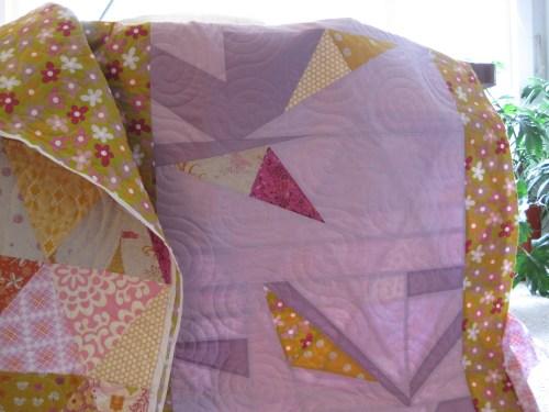Nicquelle's quilt back/sewkatiedid