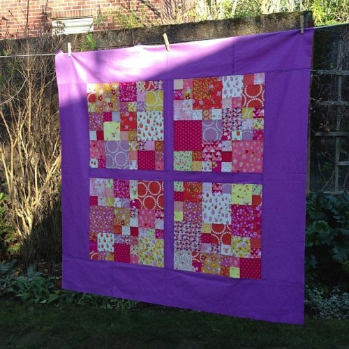 Sewkatiedid/Four Square Magic Number Quilt